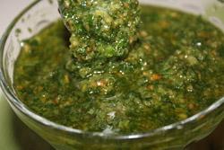 Traditionel Pesto uden Parmasan